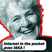 Internet in the pocket avec IAKA !